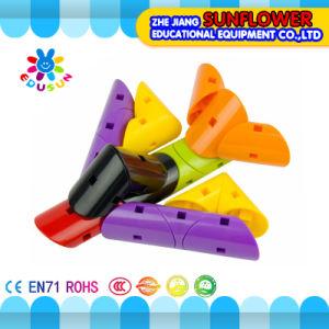 Children Plasitc Desktop Toy Rotating Building Blocks pictures & photos