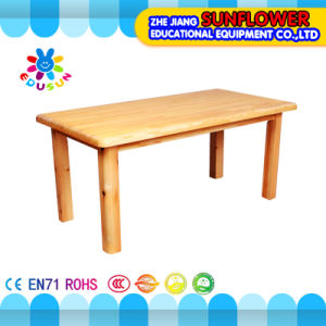 Wooden Children Table for Kindergarten (XYH12143-8)