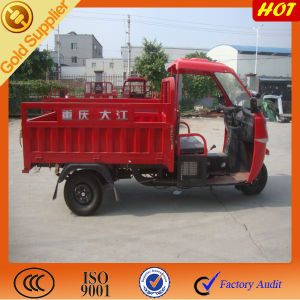 China Strong Quality Semi Cabin Tricycle Cargo / Heavy Tricycle for Semi Cabin Box pictures & photos