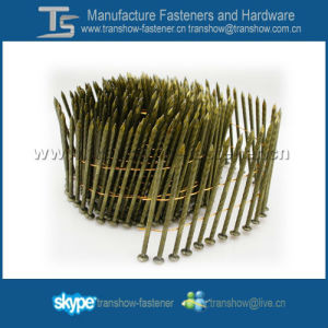 Q195 Steel Decking Pallet Coil Nails pictures & photos
