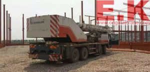 2009 Used Zoomlion 40ton Hydraulic Crane Machinery (QY40K) pictures & photos