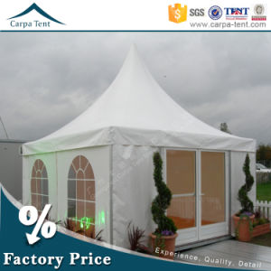 Hot Sale Air Conditioned 7mx7m Pagoda Clear Span Wedding Tent pictures & photos