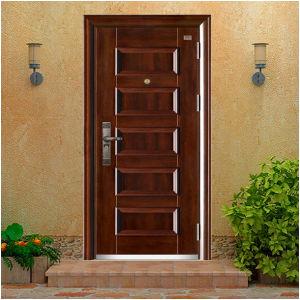 Steel Wooden Armored Door pictures & photos