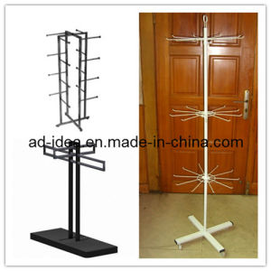 Large Shopping Malls Metal Hook Spinner Display Stand/Display Banner pictures & photos
