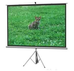 120 Inch 4: 3 HD Projector Screen Curtain pictures & photos
