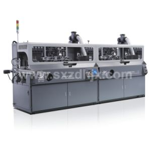 Automatic Plastic Glass Tubes Screen Printing Machine with UV pictures & photos