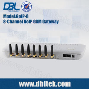GoIP-8 GSM Gateway With 8 SIM Card Ports VoIP GSM Gateway pictures & photos
