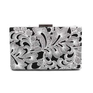 Noble Ladies Bag Peony Hollow Clutch Bag and Evening Bag (XW0908) pictures & photos