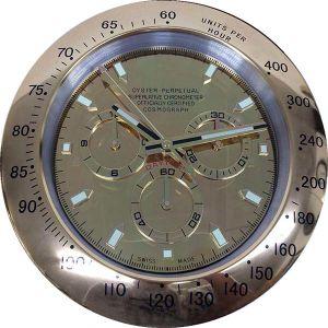 Best Selling Wall Clock Metal Luxury Fancy Wrist Watch Wall Clock (T6111G-3)