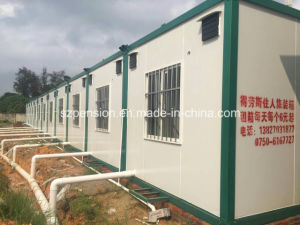 Low Pay High Quality Prefabricated/Prefab Foldable Mobile Container House pictures & photos