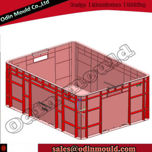 Plastic Injection Crate Mould Vegetable Crate Mould pictures & photos