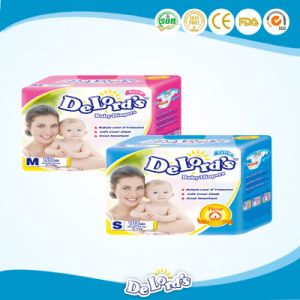 Japanese Sap, USA Fluff Pulp Baby Diaper  pictures & photos