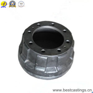 Casting Service Grey Iron Semi Truck Brake Drums pictures & photos
