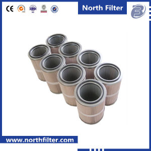 Gas Turbine Pleated Cellulose Cartridge Filter Cylinder pictures & photos
