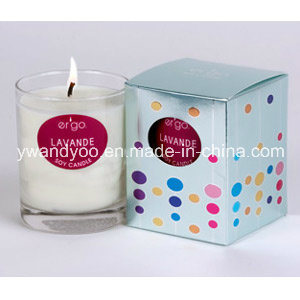 Scented Soy Candle in Glass Jar, Home Candle pictures & photos