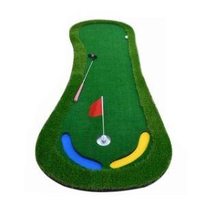 Golf Putting Green Trainer Artificial Grass Golf Putter Professional Practice Golf Putting Green