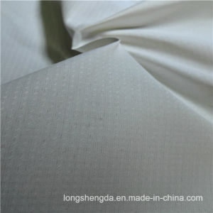 75D 230t Water & Wind-Resistant Anti-Static Sportswear Woven Peach Skin 100% Dotted Jacquard Polyester Fabric Grey Fabric Grey Cloth (E084FD) pictures & photos