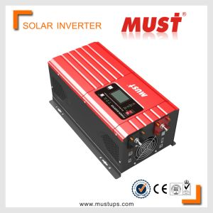 Must Low Frequency 1-6kw Pure Sinewave 50A PWM Solar Inverter pictures & photos