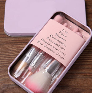Pink Lovely Makeup Brush Set pictures & photos