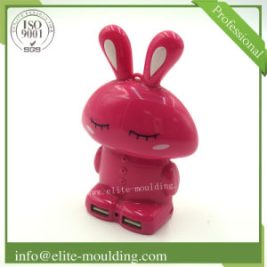 Plastic Injection Cartoon Part and Mould for Charger pictures & photos