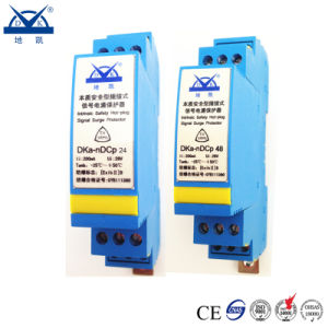 Intrinsic Safety Type Explosion-Proof DC 24V 48V Signal Lightning Arrestor pictures & photos