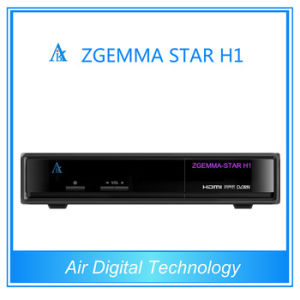 Full Function HD DVB S/S2 DVB C Smart TV Box Zgemma Start H1 pictures & photos