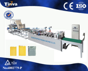2016 PLC Control Automatic Disq700A Two Side Seal Kraft Paper Bubble Film Mailer Bag Making Machine pictures & photos