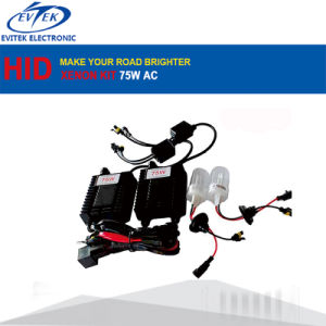 Wholesales High Power Car Headlight AC 12V 75W H1 H3 H7 6000k HID Xenon Conversion Kit pictures & photos
