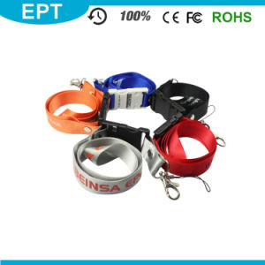 Polyester Cheap Custom Printing Lanyard Neck Strap USB Flash Drive pictures & photos