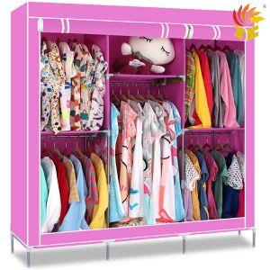Portable Fabric Ikea Wardrobe Storage
