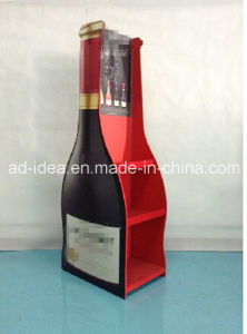 Floor Type Wine Exhibition Stand / Display for Red Wine Advertising pictures & photos
