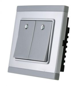 Smart RF Two Button Wireless Smart Remote Switch pictures & photos