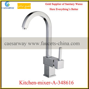 Sanitary Ware Brass Single Lever Sink Water Mixer pictures & photos