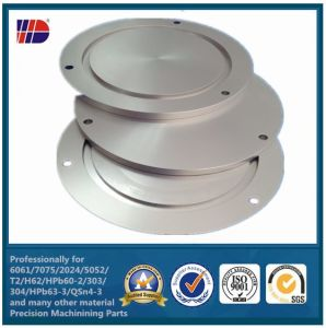 CNC Precision Manufacturing Turning Aluminum Turned Custom Parts pictures & photos