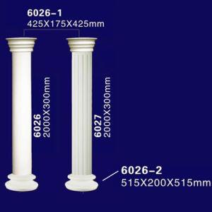 China Cheap Classic Faux Granite Foam Greek Column for
