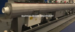 Single Screw Extruder PE HDPE PPR Pipe Extrusion Production Line pictures & photos