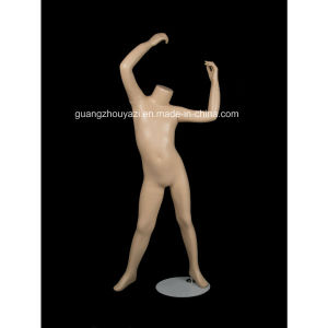 Unisex Headless Playing Kids Manikin for Window pictures & photos