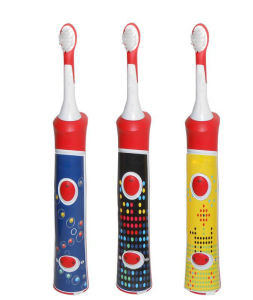 High Quality Children Acoustic Vibration Music Toothbrush pictures & photos