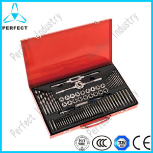 76 PCS Tap and Die Set with HSS Twist Drills pictures & photos