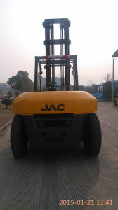 JAC Diesel Forklift Cpcd70h/ JAC Forklift Diesel Truck pictures & photos