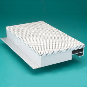 Perforated Acoustic Insulation Aluminum Honeycomb Ceiling Tile