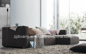 Italian Modern Fabric Leather Single Sofa (D-62A) pictures & photos