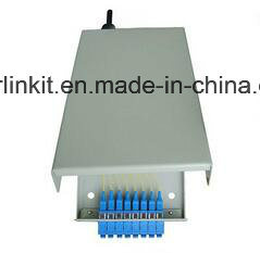 8 Port Wall Mounted Fiber Terminal Box for FTTH pictures & photos