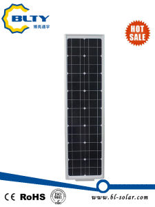 50W Integrated LED Street Light with Solar Panel pictures & photos
