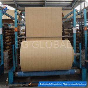 Polypropylene Woven Raffia Tubular Circular Fabric Rolls pictures & photos