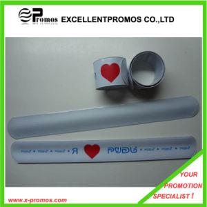 Promotional Custom Logo Reflective Slap Bracelets (EP-W58406) pictures & photos