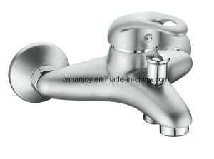 Wall Mounted Single Handle Bathtub Faucet (H08-102-SATIN) pictures & photos