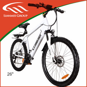 26inch Lithium Battery Alu Alloy Frame MTB Electric Bike with LED Display pictures & photos