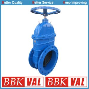 Gearbox Spur Gear DIN352 F4 Resilient Seated Gate Valve pictures & photos