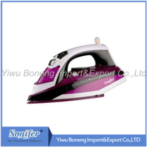 Electric Steam Iron Electric Iron Travelling Iron Sf-9007 with Ceramic Soleplate (Purple)